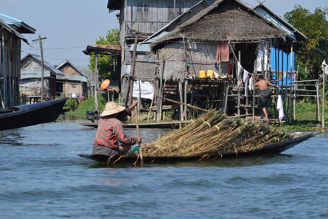 Landsbyer i Myanmar